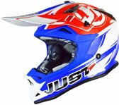 Just1 Crosshelm J32 Pro Rave Red/Blue-M