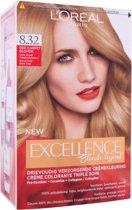 L'Oréal Paris Excellence Blonde Legend - 8.32 Red Carpet Blonde - Haarkleuring - Permanent