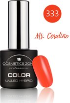 Cosmetics Zone UV/LED Hybrid Gel Nagellak 7ml. Ms. Coraline 333