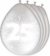 Ballonnen 25 jaar Zilver, 8st.