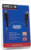 Sweex Firewire Cable 4P/4P 3M