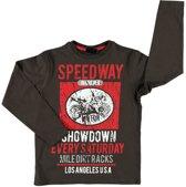 Losan Jongens Shirt Bruin - Maat 152