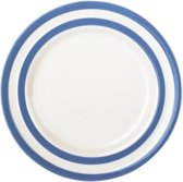 Cornishware Blue Side Plates gebaksbordje 18 cm (set van 4)