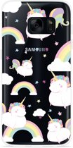 Galaxy S7 Edge Hoesje Fat Unicorn