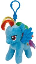 SLEUTELHANGER TY BEANIE MY LITTLE PONY RAINBOW DASH 10CM