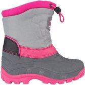 Winter-grip Snowboots Northern Flicka Meisjes Grijs/roze Maat 35/36