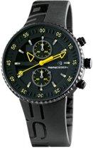 Jet black MD2198BK-31 Mannen Quartz horloge