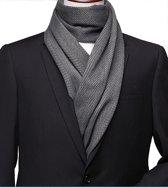 Herensjaal - Men's Shawl - Grey Edition - 190cm
