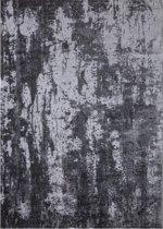 Design Laagpolig Vloerkleed Mumbai 80 x 150 cm - Antraciet