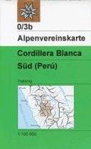 DAV Alpenvereinskarte 0/3B Cordillera Blanca Südteil 1 : 100 000