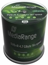 DVD+R MediaRange 4.7GB 100pcs Spindel 16x