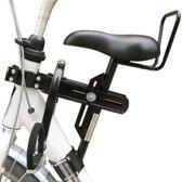 Velo zadel op buis D mono / zadel op stang fietsstoeltje model 4