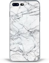 iPhone 7 Plus White Marble Case