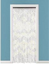 Bamboe vliegengordijn/deurgordijn 90 x 180 cm type 3 - Insectenwerende vliegengordijnen