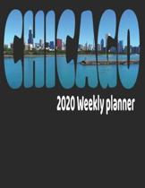 Chicago Skyline 2020 Weekly Planner