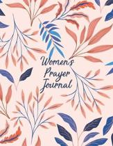 Women's Prayer Journal: Christian Scripture Notebook with Guided Prompts