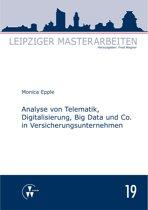 Analyse von Telematik, Digitalisierung, Big Data und Co. in Versicherungsunternehmen