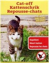 Kattenschrik Natuurlijk Afweermiddel Tegen Katten - 400 gram - 2 x 200 gram| Weert Katten | Kattenoverlast | Waterbestendige Strooikorrel | Anti Katten