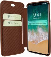 Piel Frama iPhone X Emporium Croco Brown