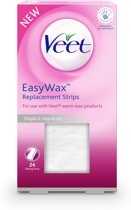Veet Easy Wax Replacement Strips - 24 stuks - Wax Strips
