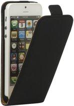 Echt Leren Verticale Apple IPhone 5(S)/SE Flip Hoesje