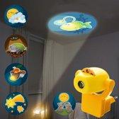 Display nachtlampjes Sterrenhemel