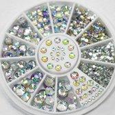 Nailart | Rhinestone | Strass nagel glitter steentjes verschillende maten