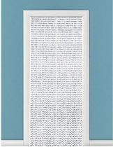 Kralengordijn/deurgordijn grijs 90 x 220 cm - Vliegenwerend - Gordijn met kralen woondecoratie