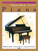 Alfred's Basic Piano Library Theory, Bk 6