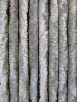 Cortenda kattenstaart vliegengordijn - beige/wit gemeleerd - 100 x 230 cm