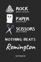 Nothing Beats Remington - Notebook
