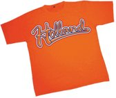 T-shirt met Holland opdruk 2xl