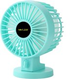 Ninzer Stille Mini Fan - Tafelventilator - Blauw