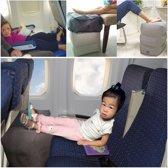 Vliegtuigbedje - Reiskussen - Voetensteun