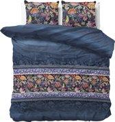 Sleeptime Paisley  - Dekbedovertrekset - Tweepersoons - 200x200/220 + 2 kussenslopen 60x70 - Blauw