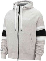 Nike Trui - Maat M  - Mannen - grijs/zwart/wit