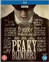 Peaky Blinders Seizoen 1 - 5 Blu-Ray Engelstalig + 4 Retro Cards & Extra Beeldmateriaal