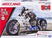 Meccano Motorfiets - 5 Modellen