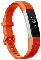 HIPFIT Siliconen bandje - Fitbit Alta (HR) - Rood - Large