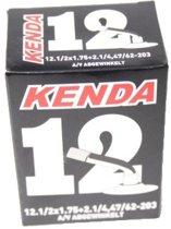 Kenda - Binnenband Fiets - Auto Ventiel Gebogen - 12 1/2 x 1.75 - 2 1/4
