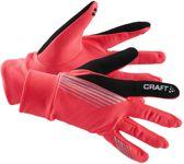 Craft Brillant Sporthandschoenen Unisex Rood Zwart Maat XL