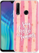 Honor 20 Lite Hoesje Say Hello to Summer