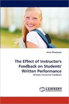 The Effect of Instructor's Feedback on Students' Written Performance