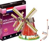 3D Puzzel Holland Molen 20Dlg.