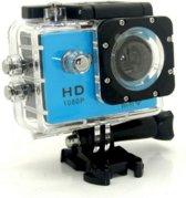 Novotek SJ6000 Waterproof HD Action Camera 1080P WIFI - Blue