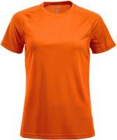 Active-T Ladies T-shirt signaaloranje m