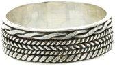 Bali ring Walai - 925 zilver - maat 18.00 mm (57)
