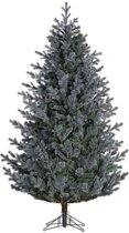 Black Box kunstkerstboom abington maat in cm: 155 x 91 blauw