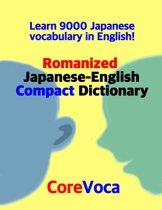 Romanized Japanese-English Compact Dictionary