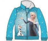 Disney Frozen vest - blauw - maat 128